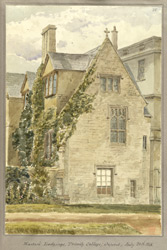 Master's Lodgings, Trinity College, Oxford July 26th 1848